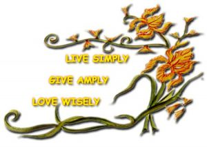 Live Simply Give Amply Love Wisely
