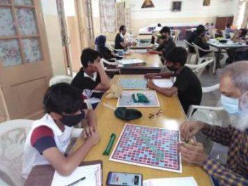 Scrabble Tournament organized in School by PSA